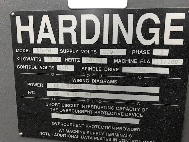 Hardinge Conquest T51, Machine ID:6635