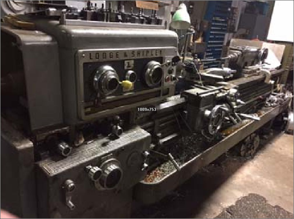 Lodge & Shipley 18 x 78 Engine Lathe, Machine ID:6652
