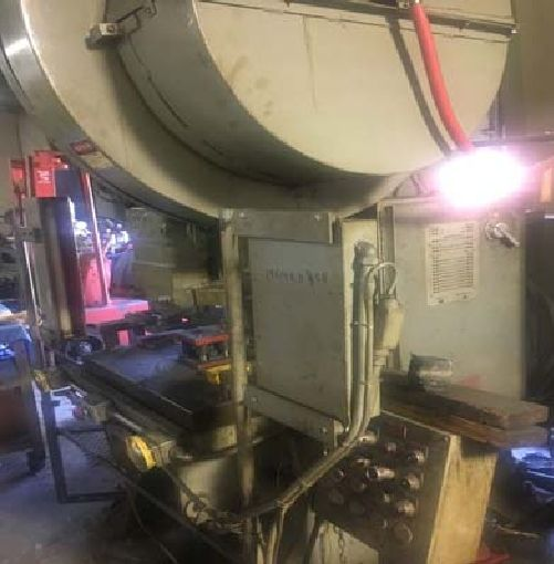 Clearing 60 ton OBI Press, Machine ID:6653