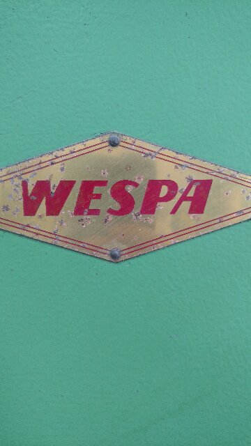 Wespa AS95, Machine ID:6657