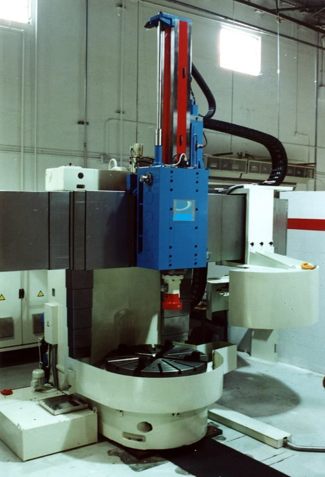 Lansing 56 CNC Single Column Vertical Turning Lathe, Machine ID:6659