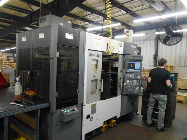 Okuma 2SP-150H, Machine ID:6680