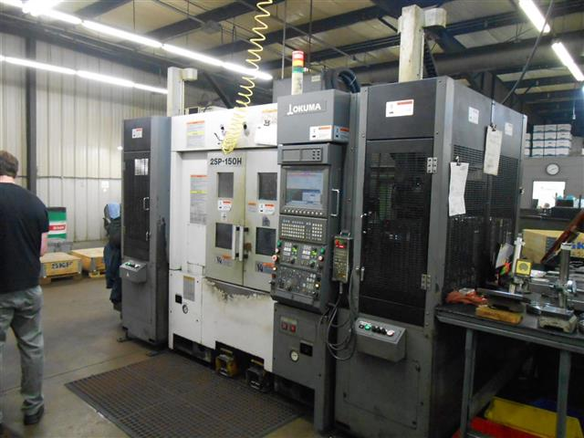 Okuma 2SP-150H, Machine ID:6681