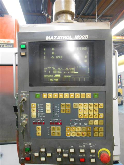 Mazak V414, Machine:6682, image:9