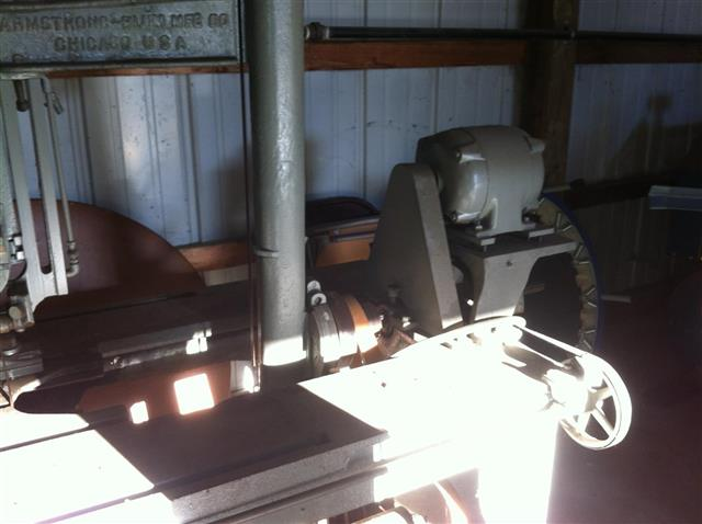 Marvel No 8 Vertical Band Saw, Machine ID:6685
