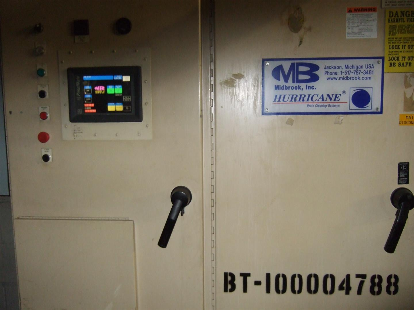 Midbrook Hurricane Parts Washer M100004788, Machine ID:6709