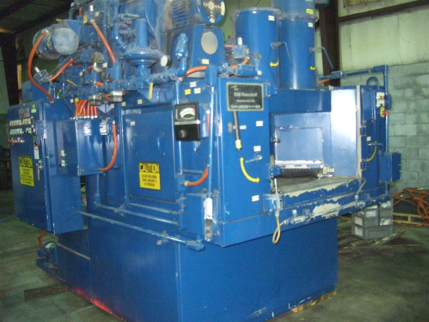 Machine 6710, CAE Ransohoff Rotary Parts Washer, 1999