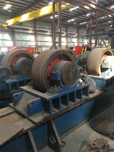 Vanguard XHGK-600 - 600 Ton Tank Turning Rolls image is available