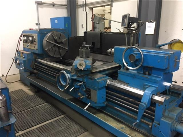 "Machine 6730, Lodge & Shipley 2XE 3220W, 1976, 32"" x 72"", 50 HP, 2.56"" Spindle Hole, Steady Rest, 4-Way Rapid Traverse, Taper Attachment, DRO, Tailstock"