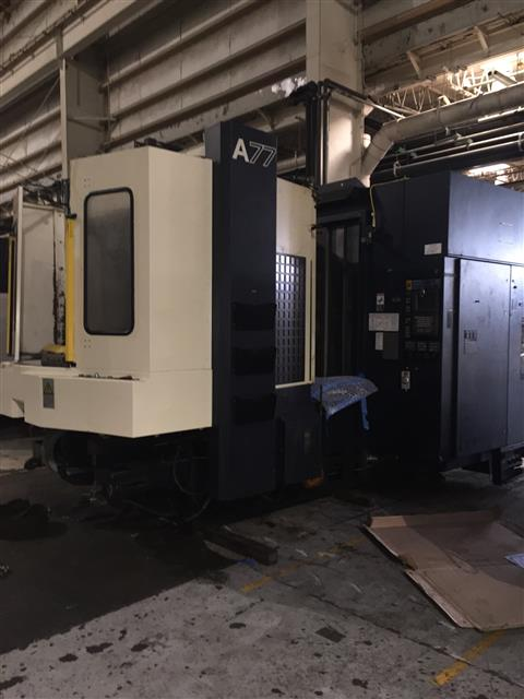 Machine 6731, Makino A77, 1999, HSK 100 Spindle, 18K RPM, 90 ATC