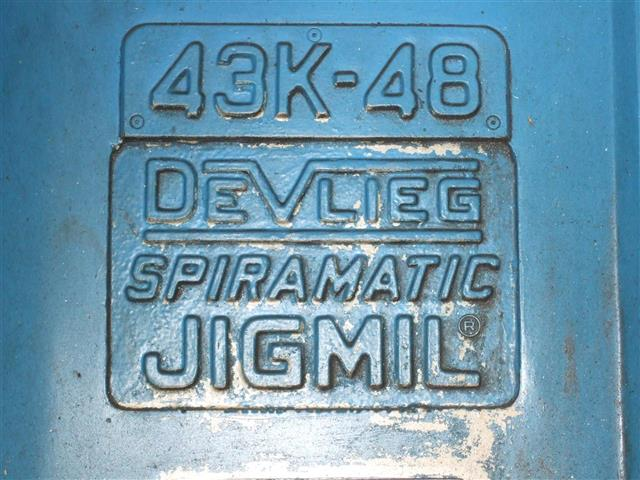 Devlieg 43K48 Spiramatic, Machine:6742, image:4