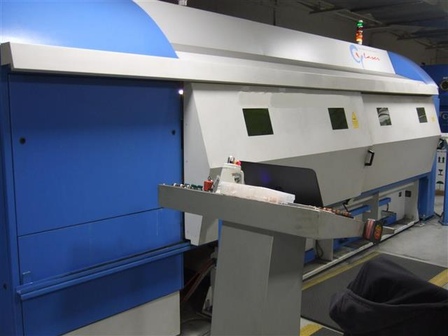 "Machine 6750, CY 1530 SL 2.0KW Fiber Laser, 2012, 59"" x 118"", AIR 3000 Chiller, Farr Gold Series Packaged Dust Collector"