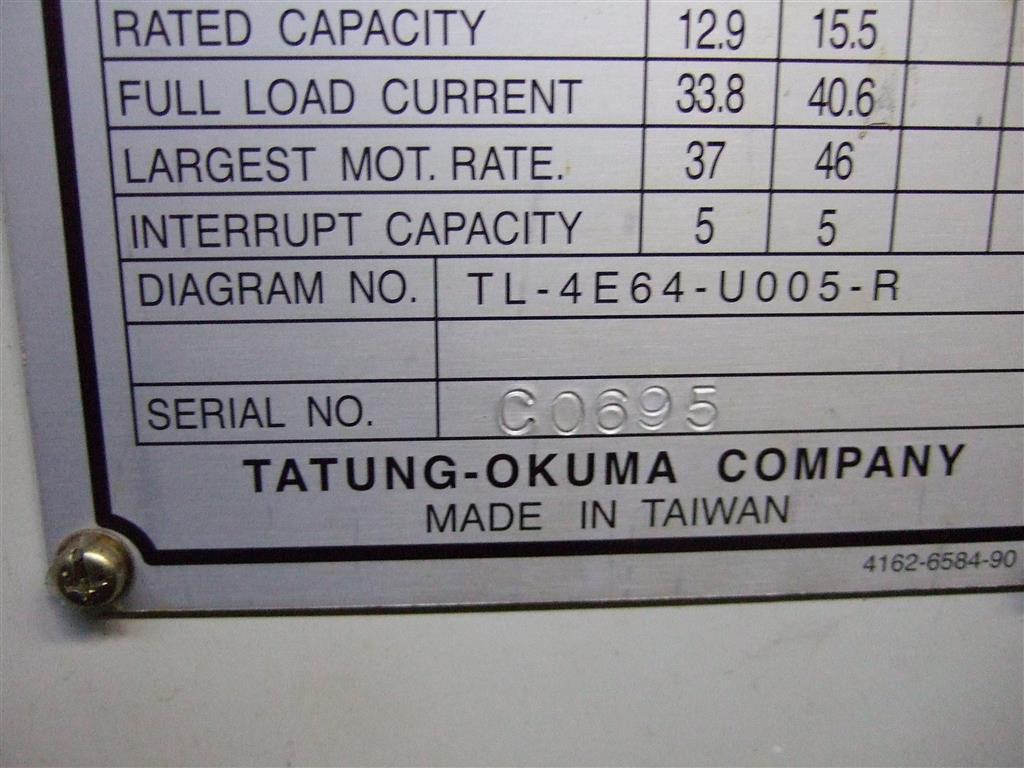 Okuma LB15 LATHES, CNC, 2-AXIS, UNIVERSAL 1987 6875 on