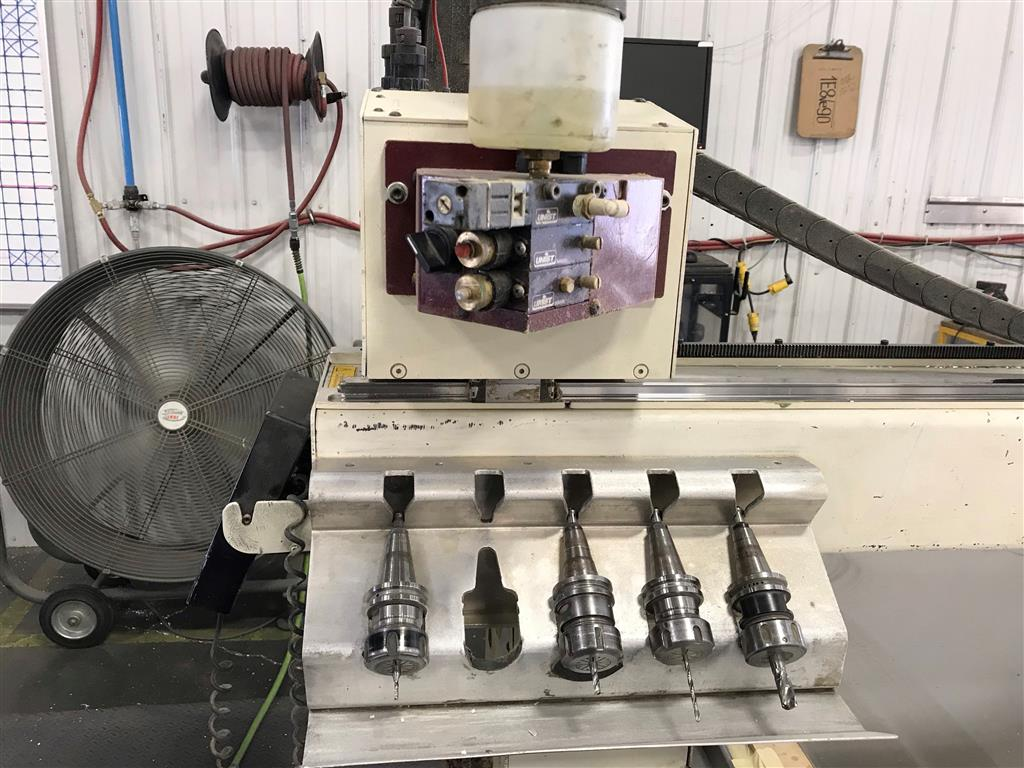 AXYZ Automation 8016, 2001, ROUTERS, N/C & CNC